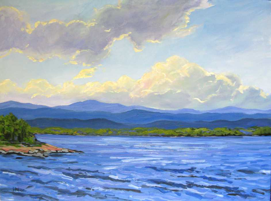 View Patty's original landscape paintings